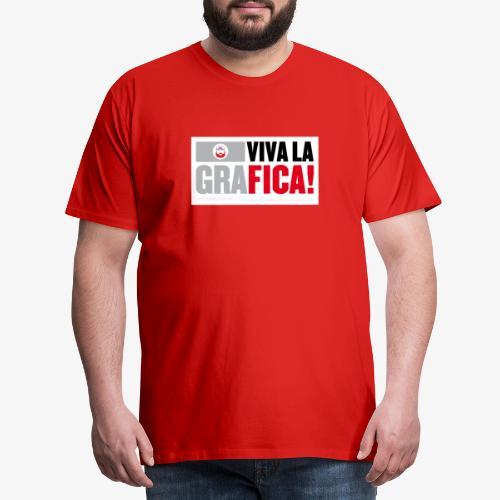 viva la graFICA - Maglietta Premium da uomo
