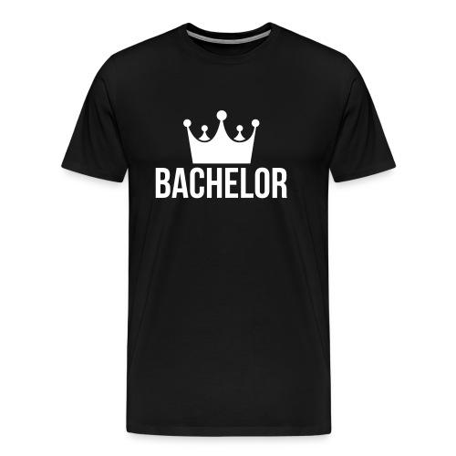 bachelor king - Mannen Premium T-shirt