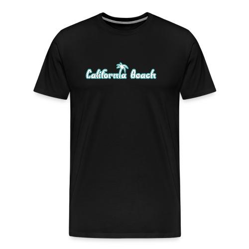 California Beach - Premium-T-shirt herr