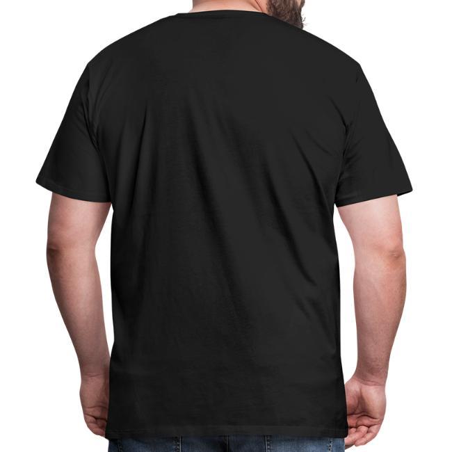 Vorschau: Aufpassn I bin in Pension - Männer Premium T-Shirt
