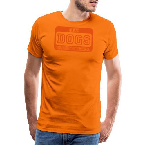 Martin Rütter - Sex, DOGS, Rock 'n' Roll - Langar - Männer Premium T-Shirt