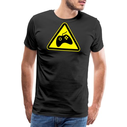HAZGAM_BLACK - Men's Premium T-Shirt