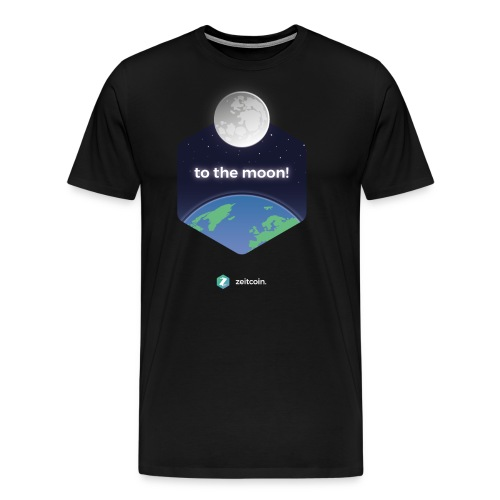 zeit earthrise - Men's Premium T-Shirt