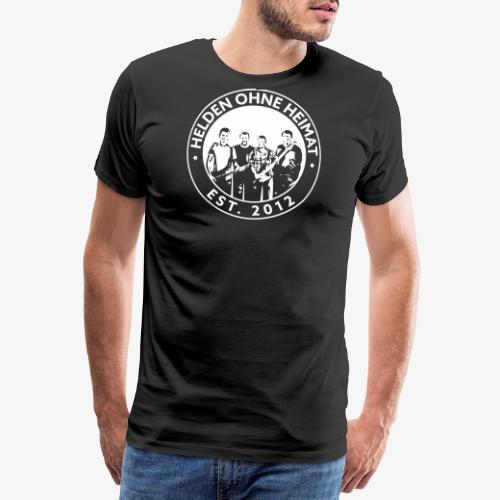 Helden Ohne Heimat Emblem - Männer Premium T-Shirt