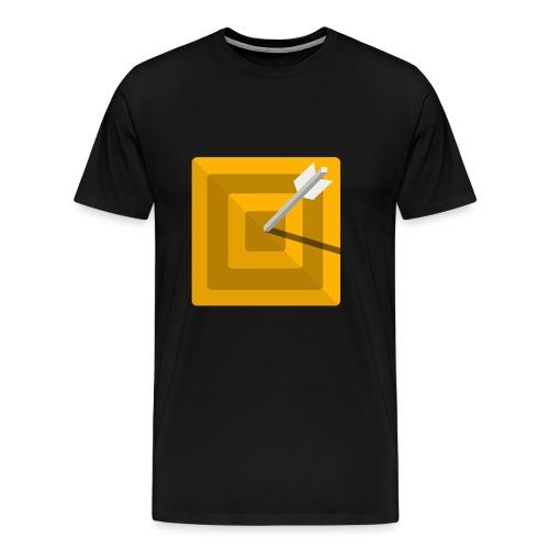 Cible - T-shirt Premium Homme