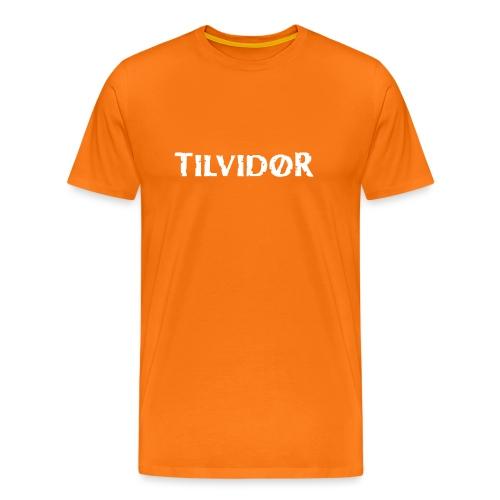 TVDteelogodarkbg1 copy - Herre premium T-shirt