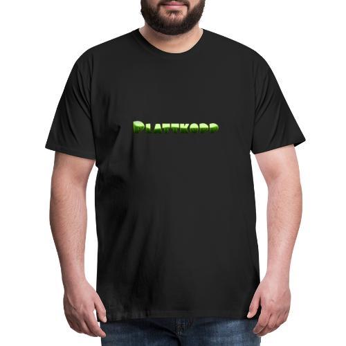 Plattkopp - Männer Premium T-Shirt