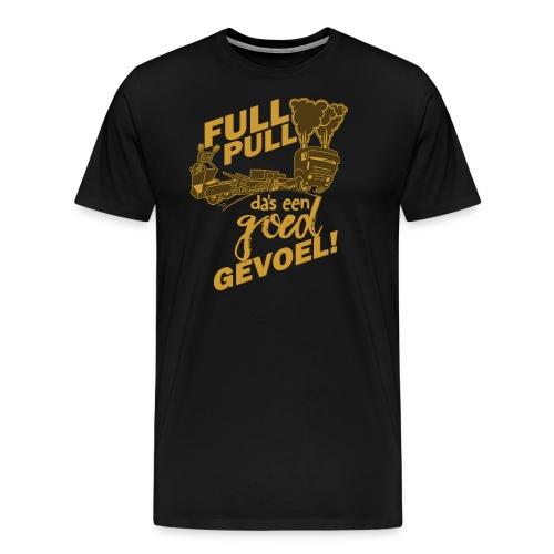 full pull duotone contour - Mannen Premium T-shirt