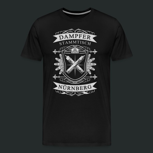 nürnberger stammtisch png - Männer Premium T-Shirt