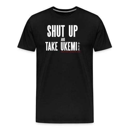 Anniversary T-Shirt Aikido im Hof - Männer Premium T-Shirt