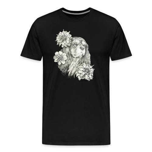 Dahlien Cavalier farbig - Männer Premium T-Shirt