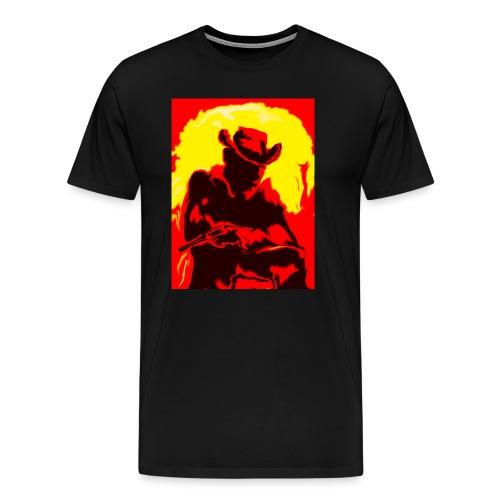 Cowboy - Männer Premium T-Shirt
