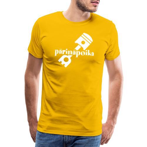Pärinäpoika - Miesten premium t-paita