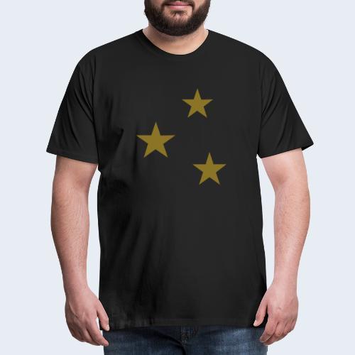 3 Stars - Mannen Premium T-shirt