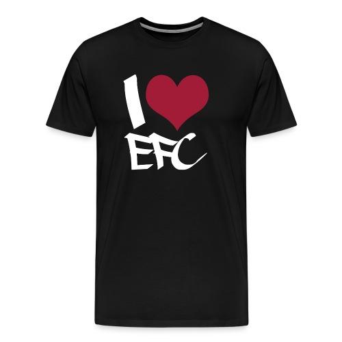 iloveefc white - Männer Premium T-Shirt
