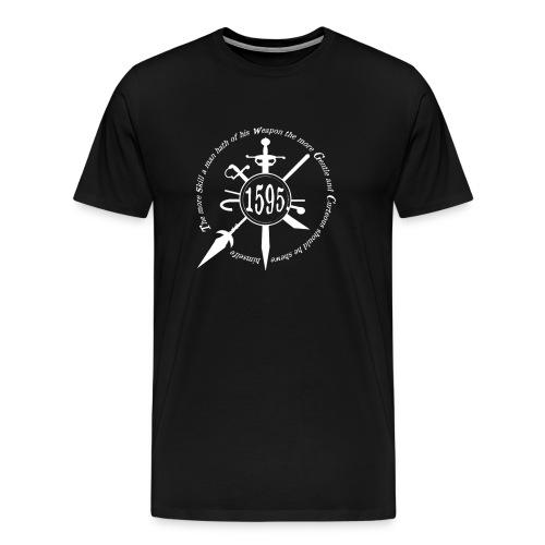 2015 badge + quote white - Men's Premium T-Shirt