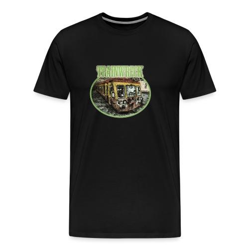 trainwreck - cannabis sorte - Men's Premium T-Shirt