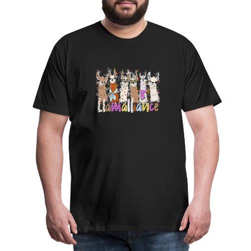 Coole Llamas Kinder und Erwachsene T-Shirt - Männer Premium T-Shirt