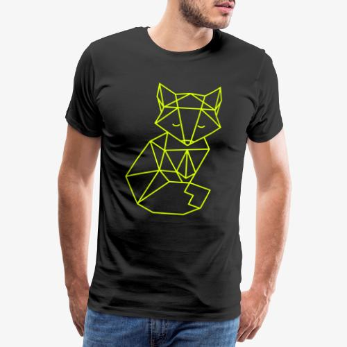 Renard Origami - T-shirt Premium Homme