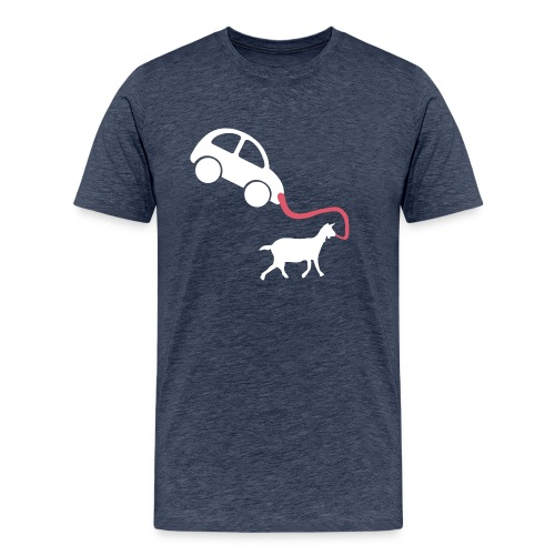 Walk the car - Men's Premium T-Shirt