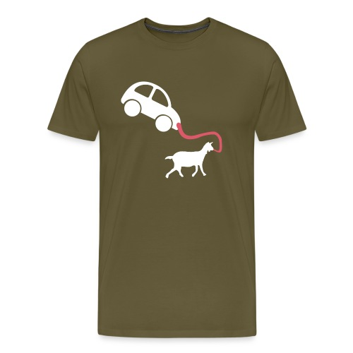 Walk the car - Men's Premium T-Shirt