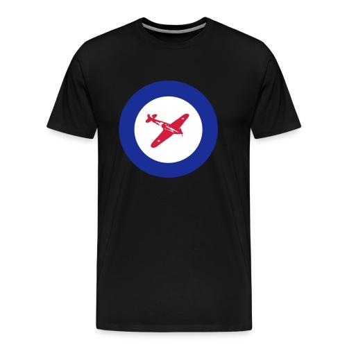 Hurricane Roundel - Men's Premium T-Shirt