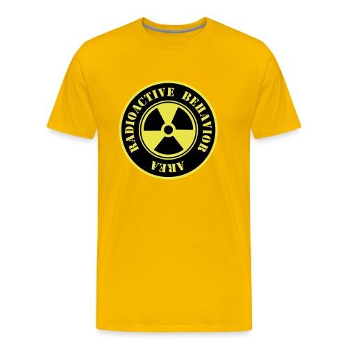 Radioactive Behavior - Camiseta premium hombre