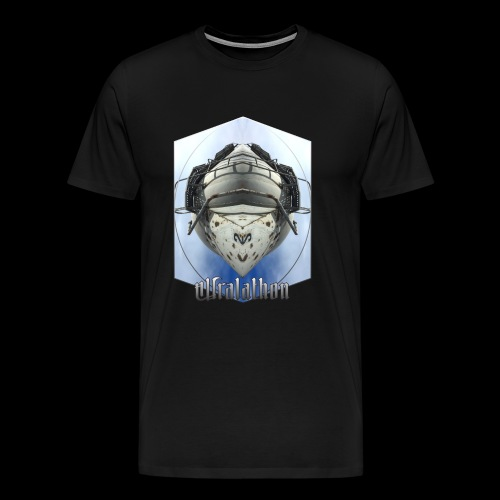 kuudes - Miesten premium t-paita