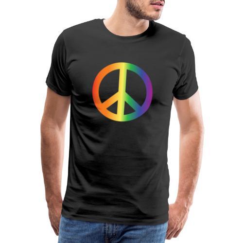 Pride Peace Gradient - Men's Premium T-Shirt
