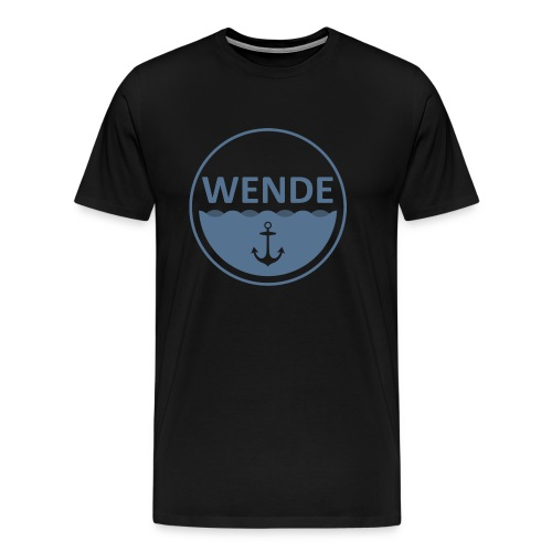 Wende Logo - Männer Premium T-Shirt