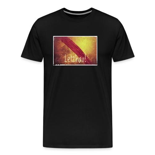 Letzhau - Männer Premium T-Shirt