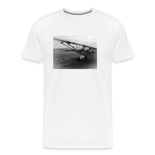 Piper PA18 - Men's Premium T-Shirt