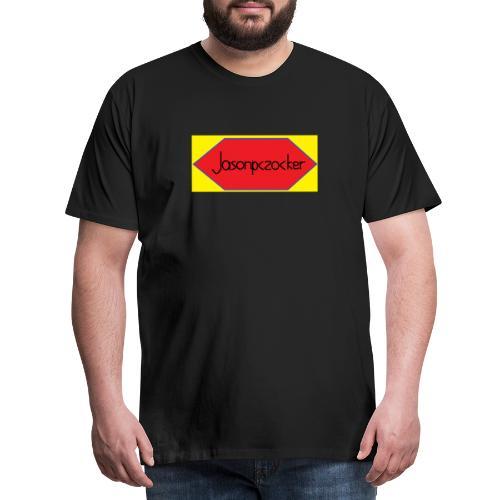 Jasonpczocker Design für gelbe Sachen - Männer Premium T-Shirt
