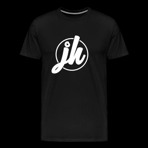 Jugend Heepen Logo Groß Weiß - Männer Premium T-Shirt