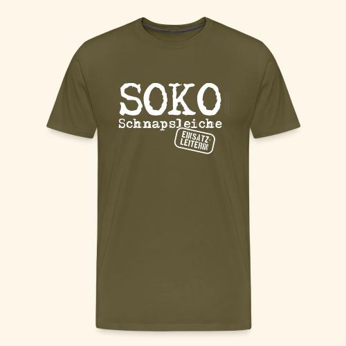 Sauf T Shirt SOKO Schnapsleiche - Männer Premium T-Shirt