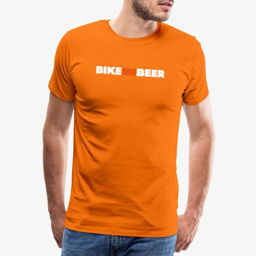 bike and beer banner - T-shirt Premium Homme