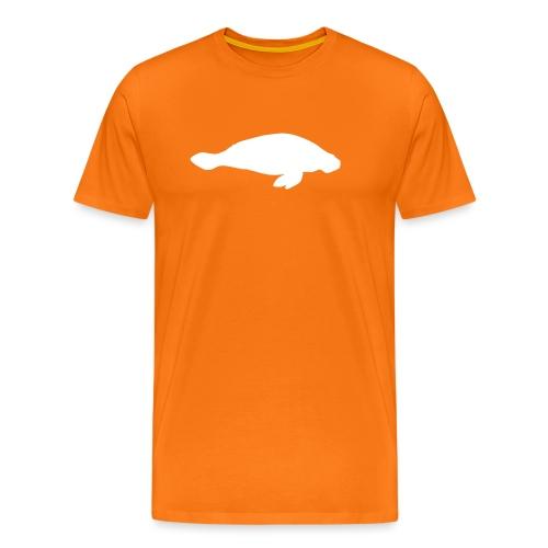 Larry Fitzpatrick X Manatee - Männer Premium T-Shirt