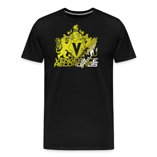 vengeance-recordings-gold - Men's Premium T-Shirt
