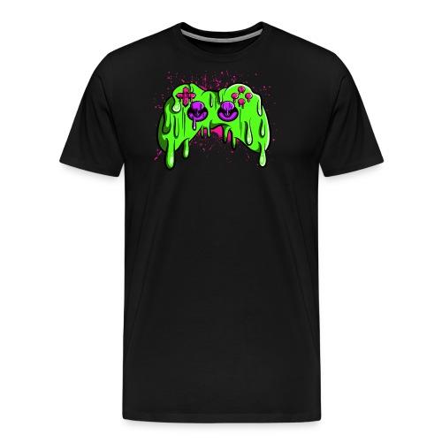 Controller geschmolzen - Männer Premium T-Shirt