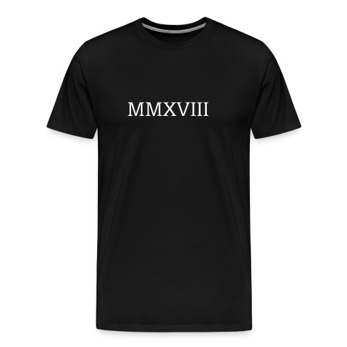 MMXVII - design - T-shirt Premium Homme