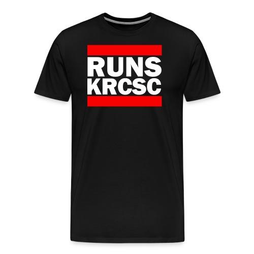 KRCSC logo (black) - Men's Premium T-Shirt