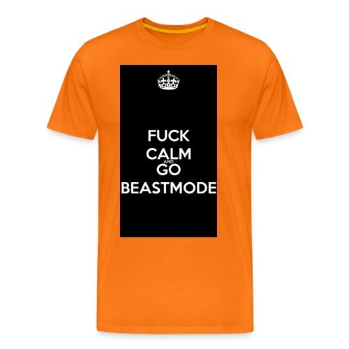 Go Beast-Mode - Men's Premium T-Shirt