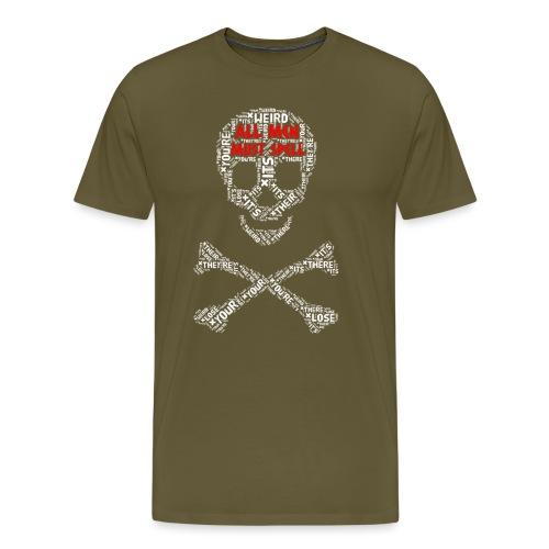All Men Must Spell - Herre premium T-shirt