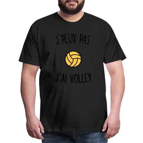 J'peux pas j'ai volley - T-shirt Premium Homme