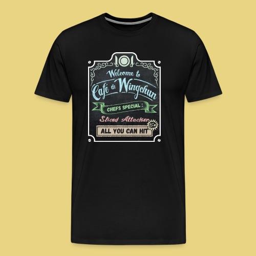 cafe de wingchun - Men's Premium T-Shirt