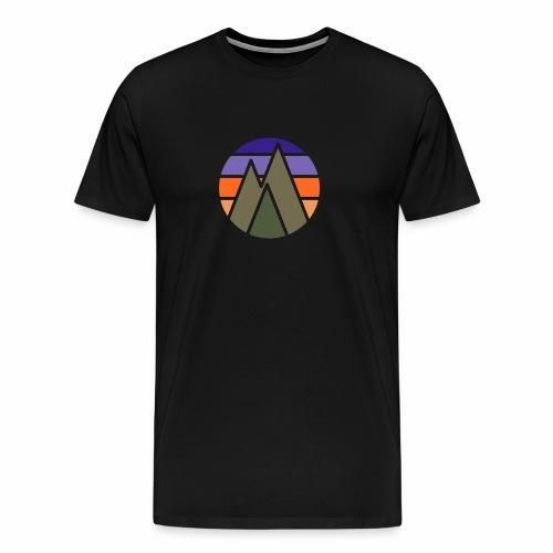 3Trees sunset - Männer Premium T-Shirt