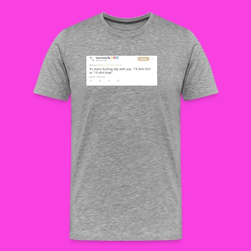 Ieuan Tweet - Men's Premium T-Shirt