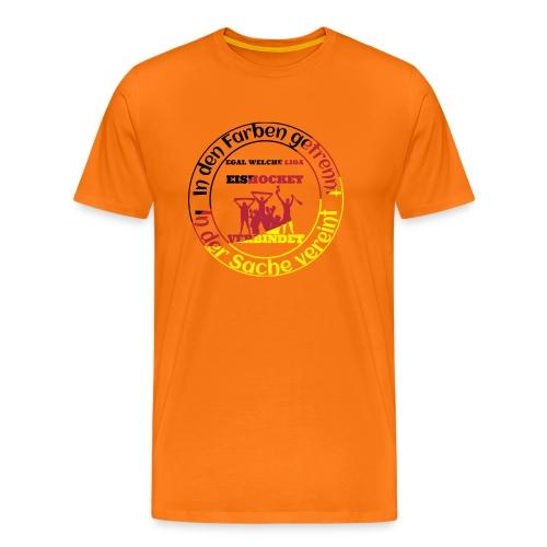 Eishockey verbindet - Männer Premium T-Shirt
