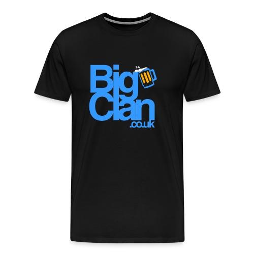 BIg Clan Logo Light Blue - Men's Premium T-Shirt