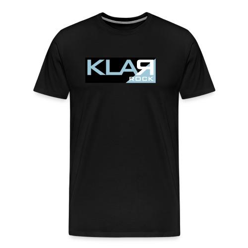 KLAR-Logo pur, no classic - Männer Premium T-Shirt